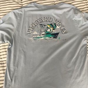 Vineyard Vines T-Shirt Large light blue
